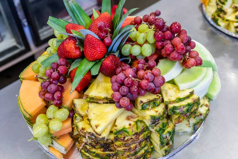 Fruit Tray by Maximilian's Catering