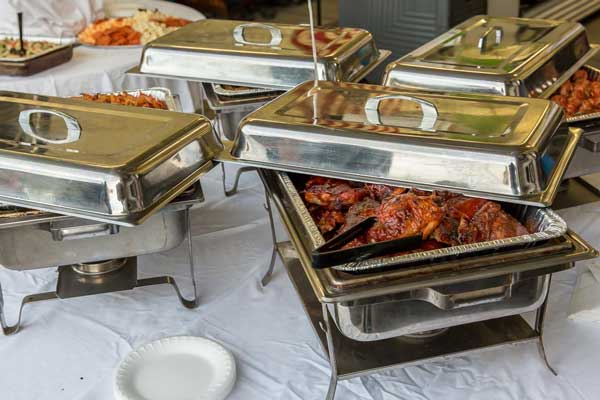 Covered Dishes ~ Maximilian's Catering
